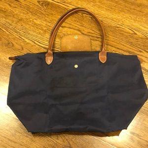 Longchamp bag navy blue